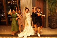 結婚式二次会撮影